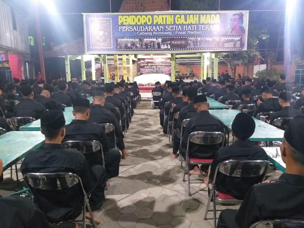 Polres Rembang Amankan Pengesahan Warga Baru Psht Tribratanews Polres Rembang